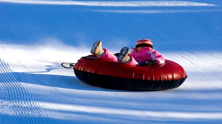 Snow Tubing Adventure at Wintergreen Resort